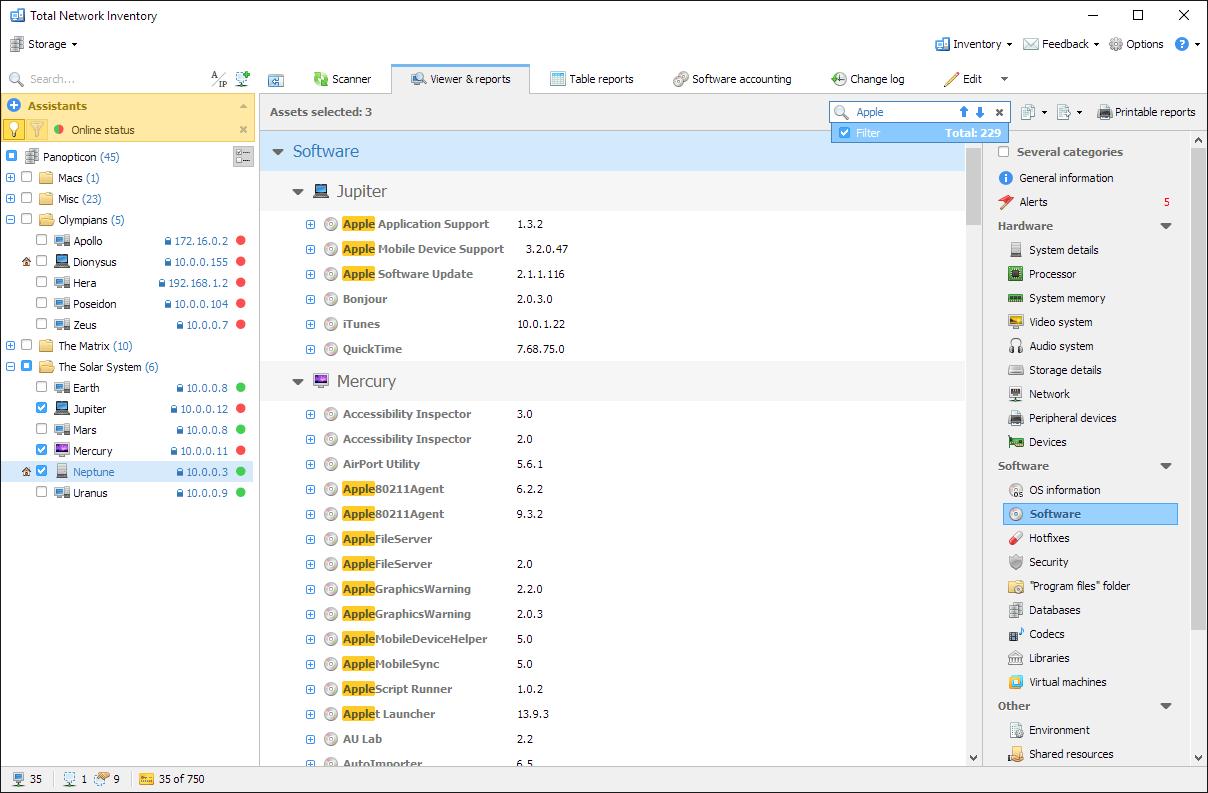 Netzwerk Inventarisierung Mit Total Network Inventory 4